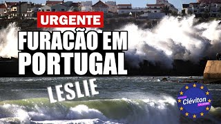 Furacão em Portugal - 2018
