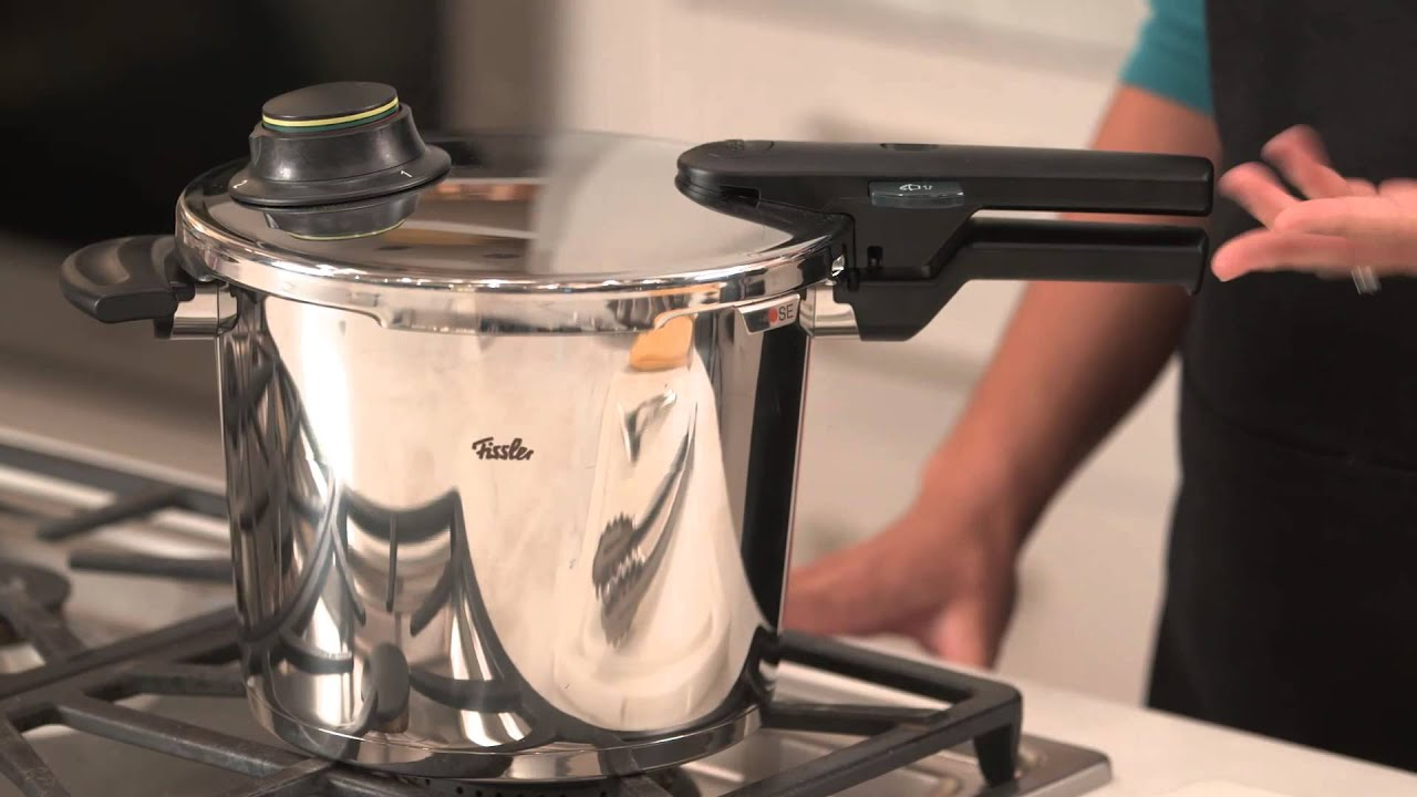 how to put pressure cooker to pressure