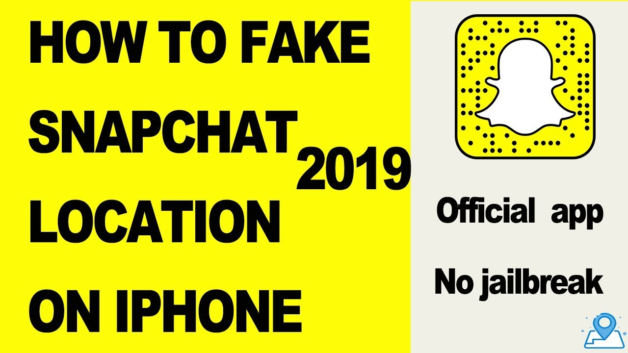 How to fake or spoof your snapchat location on iPhone with official app 2019