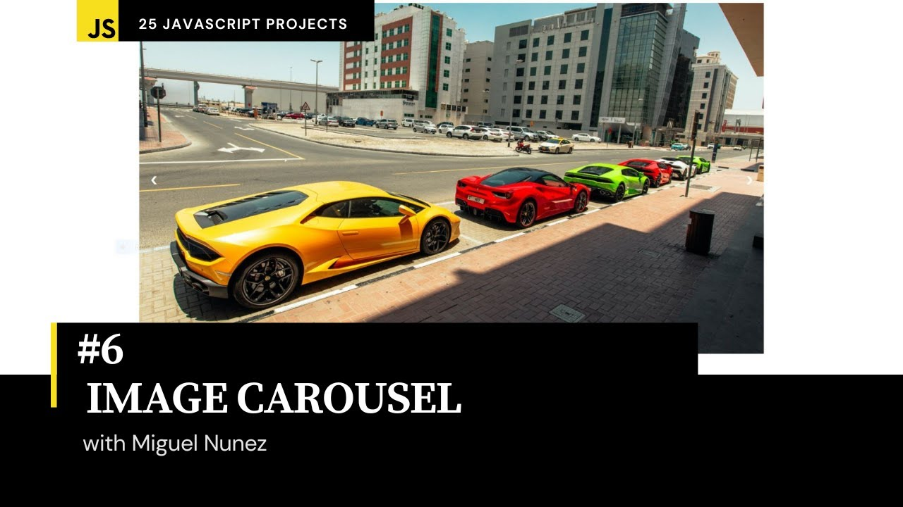 How to Create a Photo Carousel Using HTML, CSS, & JavaScript
