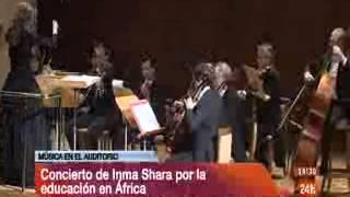 Concierto Inma Shara Febrero 2013 en Canal 24Horas