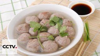Китайская кухня: Тефтели из говядины с корнем лотоса