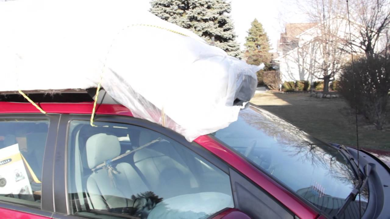 How to carry a mattress on a car