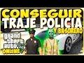 TRUCOS GTA 5 ONLINE  - CONSEGUIR TRAJE DE POLICIA Y BASURERO - GTA 5 PS4, PC Y XBOX ONE