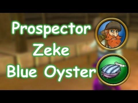 Wizard101 HD | Prospector Zeke - Blue Oysters