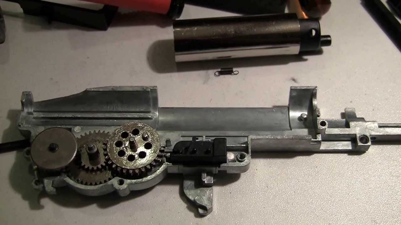 ICS M1 Garand gearbox review, signs of possible M14? - YouTube