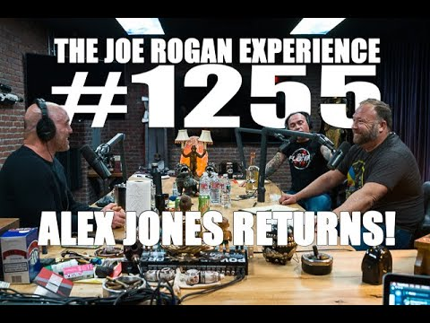 Joe Rogan Experience #1255 – Alex Jones Returns!