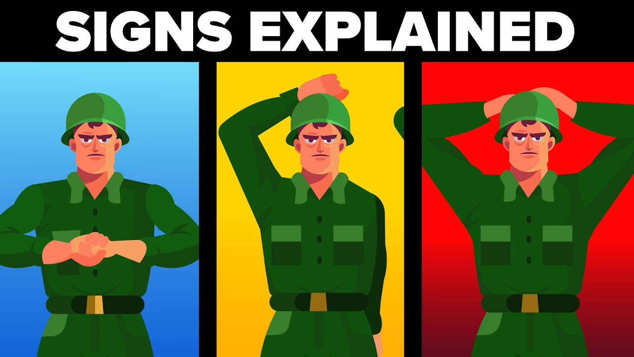 Military / Army Hand Signs Explained (Signals & What Do They Mean)