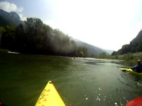 kayak presso il river sport centre tovi 2.AVI