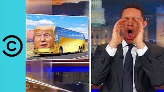 Donald Trump Is Throwing Paul Ryan Under The Bus | The Daily Show