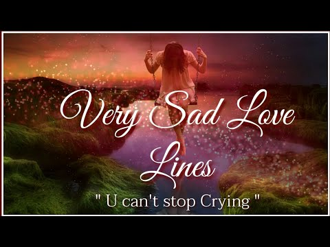 Very Sad Love Lines 💔|  Sad Heart Touching Lines 💕| 2 Lines Sad Shayari | 2 Lines Shayari Status
