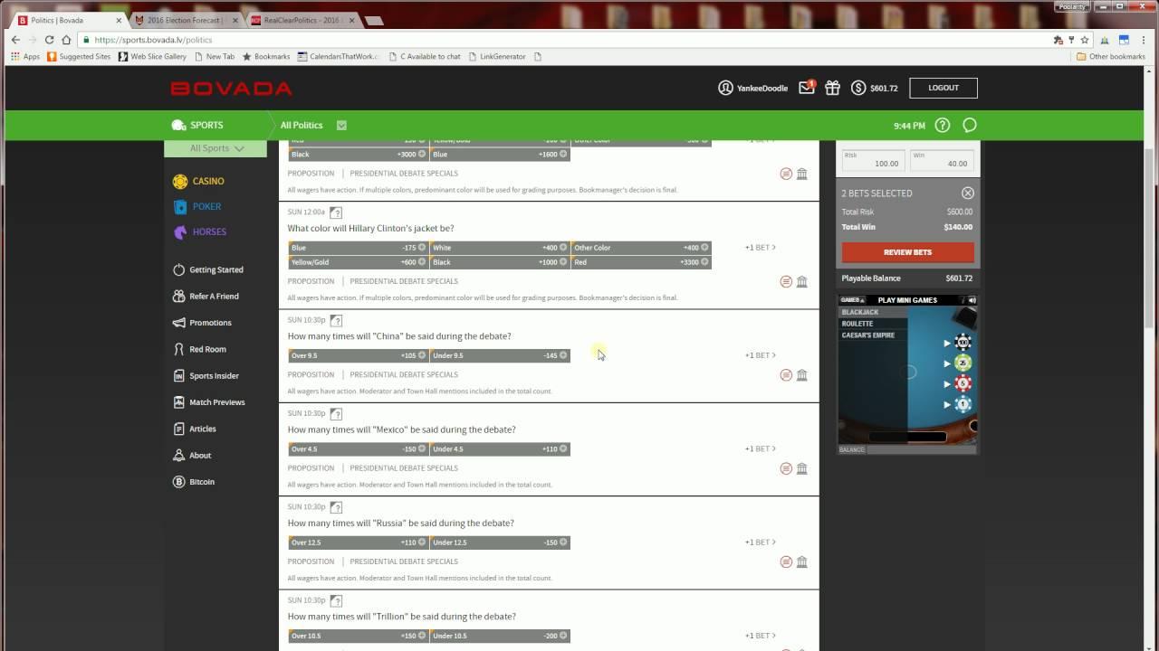 Vegas betting odds election betting line byu vs memphis