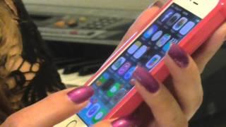 Usando el Iphone para leer dinero cuando eres invidente/ciego, Anna Garzya