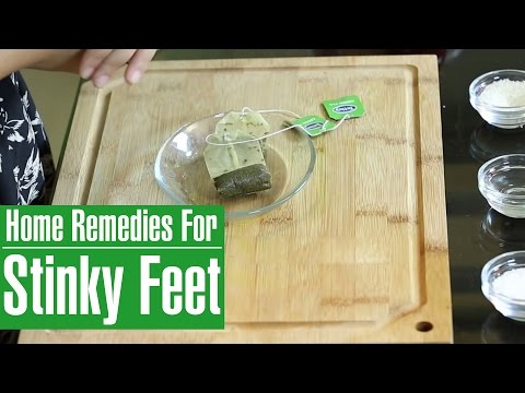 How To Get Rid Of Foot Odor Natural Home Cures For Stinky Smelly Feet