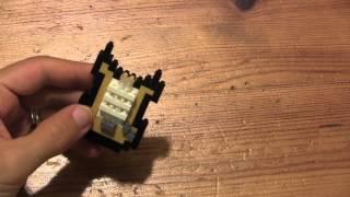Building The Nanoblocks Electric Guitar