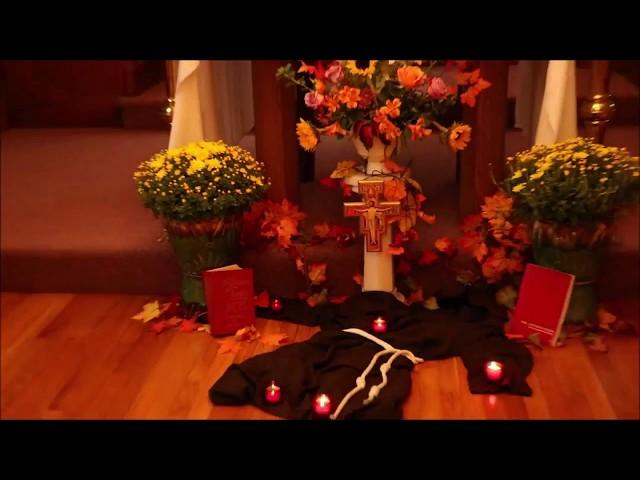 Prayer of Saint Francis Song- Capuchin Franciscan Transitus