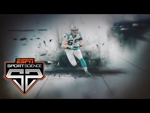 Luke Kuechly's Perfect Speed And Power | Sport Science | ESPN Archives