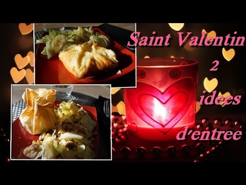 saint valentin deux id es d 39 entr e repas en amoureux youtube. Black Bedroom Furniture Sets. Home Design Ideas