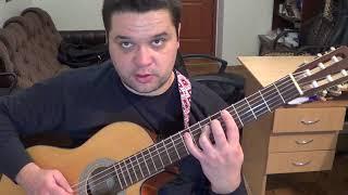"""Ю невер кен тел  - Чак Бери (тема из фильма """"Криминальное чтиво"""") - разбор на гитаре"""