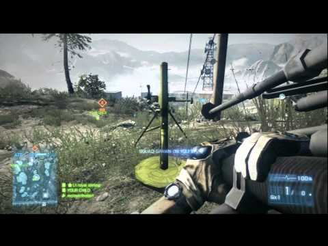 battlefield 3 damavand peak [m224 mortar] Rush