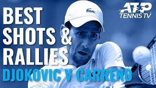 Best Shots & Great Rallies: Djokovic v Carreno Busta | Cincinnati 2019