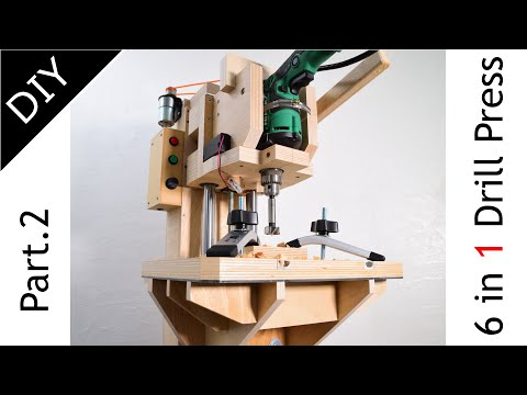 Making of 6 in 1 Drill Press( Drill Stand ) Part 2