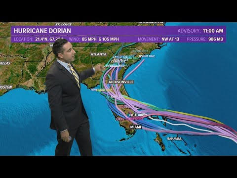 Hurricane Dorian latest
