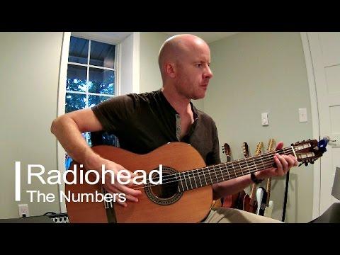 Radiohead: The Numbers (instrumental acoustic guitar) + TAB