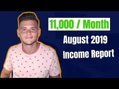 Dropshipping From Aliexpress To eBay - August 2019 Income Report thumbnail