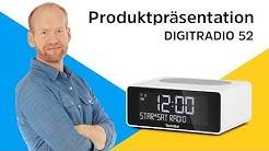 DIGITRADIO 52   Uhrenradio mit praktischer Wireless-Charging-Fläche.   TechniSat
