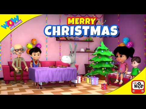 Merry Christmas! Special song for Children |Vir: The Robot Boy | Wow Kidz Rhymes