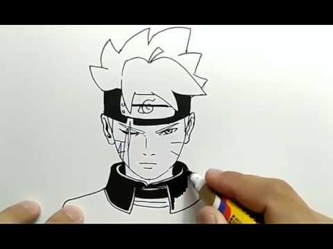 Boruto Gambar Anime Naruto Pensil - Gambar Anime Keren