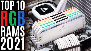 Top 10: Best DDR4 RGB Rams of 2021 / Desktop RGB Gaming Memory Kit for Gaming PC, Workstation