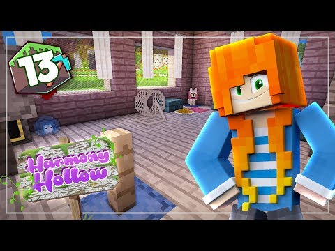 The Cutest Pet Room!   Minecraft: Harmony Hollow SMP - S3 Ep.13