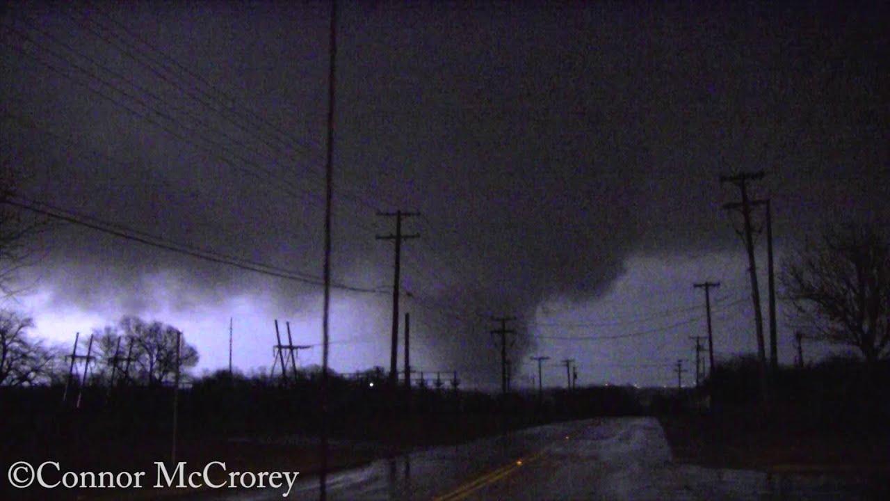 EF 4 Tornado Rowlett High School 12262015 YouTube
