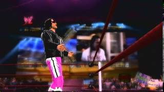WWE 2K14 - Bret Hart Entrance (Hart Foundation)
