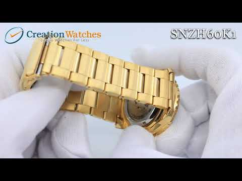 Seiko 5 Sports Automatic SNZH60 SNZH60K1 SNZH60K Men's Watch