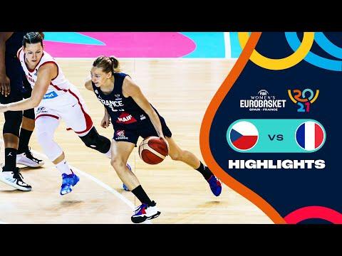 Czech Republic - France | Highlights - FIBA Women's EuroBasket 2021