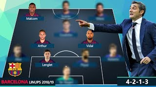 ... which is your favorite starting lineup? my option: stegen, alba, umtiti/leng...