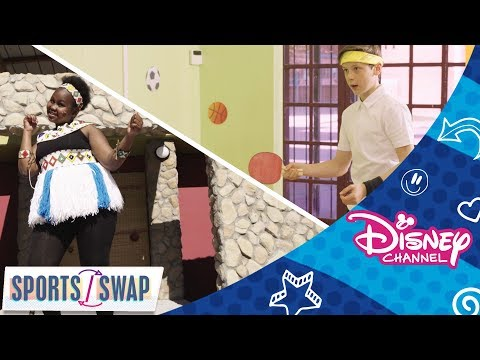 Sports Swap ⚽🏸   Traditional Dancing💃  vs Table Tennis 🏓    Official Disney Channel Africa