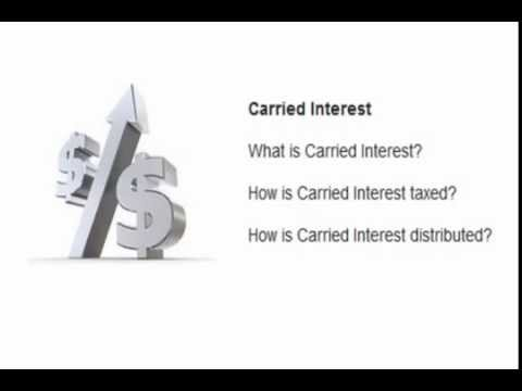 Private Equity Carried Interest Basics