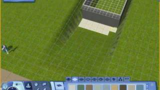 The Sims 3 - How To Make A Real Sloped Driveway In The Sims 3.