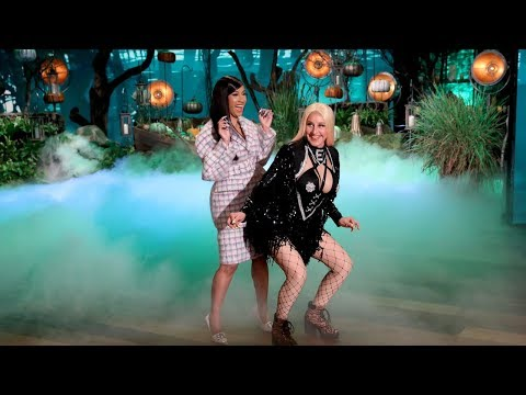 Chris Davis - Cardi B Meets Cardi E on Ellen - Happy Halloween!
