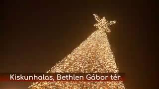 Adventi tér Kiskunhalason minden nap december 22-ig