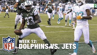 Chris Ivory Breaks a Million Tackles for a TD! Maybe not a Million... | Dolphins vs. Jets | NFL