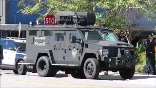 San Diego: SWAT Standoff With Murder Suspect 2/25/2018