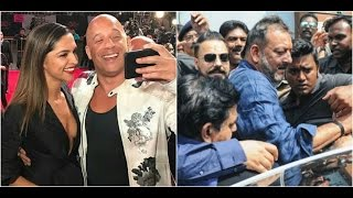 Deepika Promotes 'xXx' In Mexico | Sanjay Dutt Gets Mobbed At Dubai