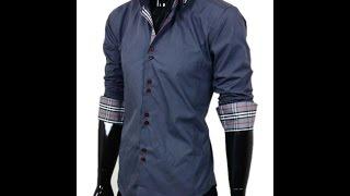 Мужская стильная рубашка La Griffe модель 2881-4