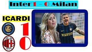 Falanqeynta derby di Milano Inter 1-0 Milan Icardi oo Wadnaha Gooyey Gattuso & Wiilashiisa