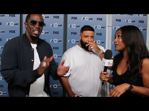 The Four's Diddy & DJ Khaled REVEAL Why The Four Is The HOTTEST Show On TV! Do You Agree?